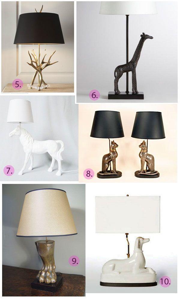 animal lighting round up emily henderson emily henderson rh pinterest com