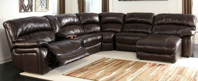 Ashley Furniture U98200 58 57 19 77 46 97 6 Pc Damacio Collection