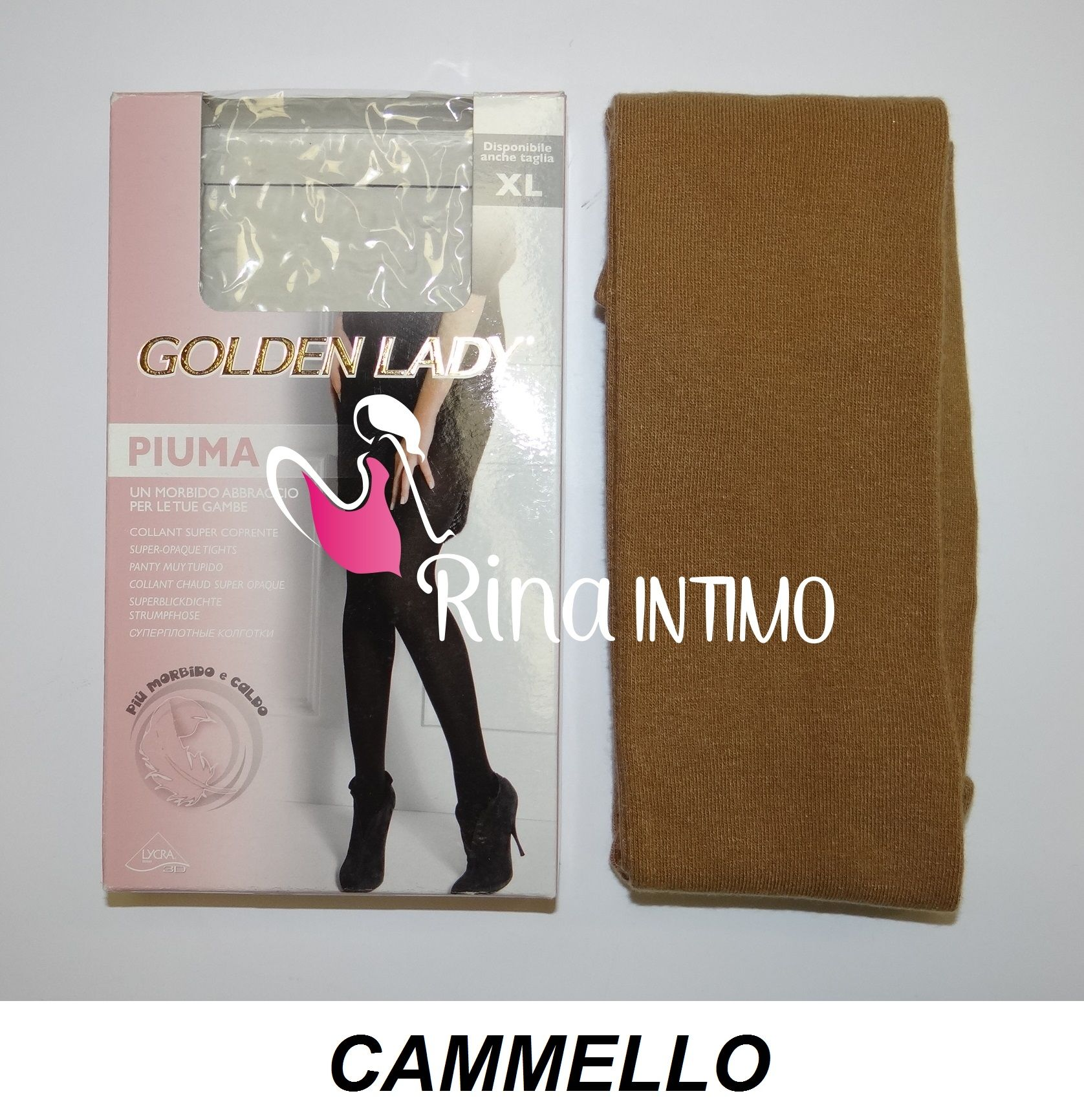 40537f57a Collant golden lady piuma