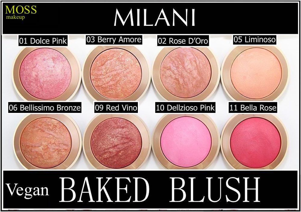 Details about MILANI Baked Powder Blush Contour