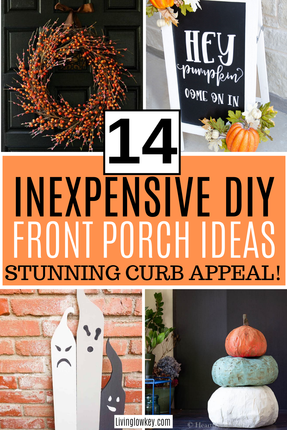 14 Inexpensive Front Porch Decor Ideas You Need To Try This Fall Fall Decorations Porch Front Porch Decorating Fall Porch Decor Diy