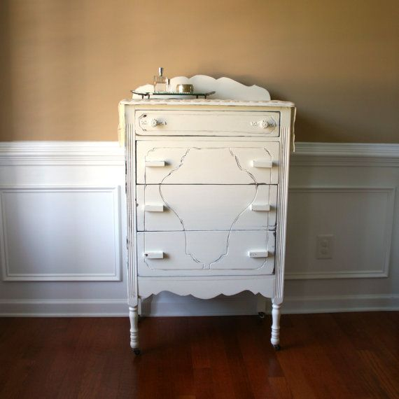 Highboy Chest Of Drawers Antique White 1930s By Rhapsodyattic Bohemian Style Rooms Retail Furniture Hippy Room