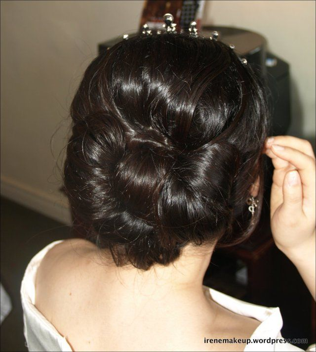 27 Beautiful Asian Wedding Updo Hairstyles Updo And Wedding