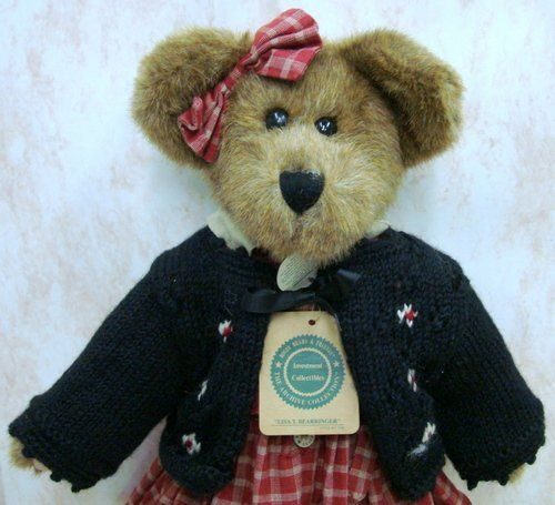 "15"" Retired Lisa T. Bearringer Jointed Teddy Bear Boyds Bears http://www.amazon.com/dp/B008ACV7SO/ref=cm_sw_r_pi_dp_ESo9vb08Z0M4A"
