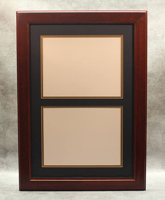 Double Diploma Frame Graduation Office Decor 8 12 X 11 Frames