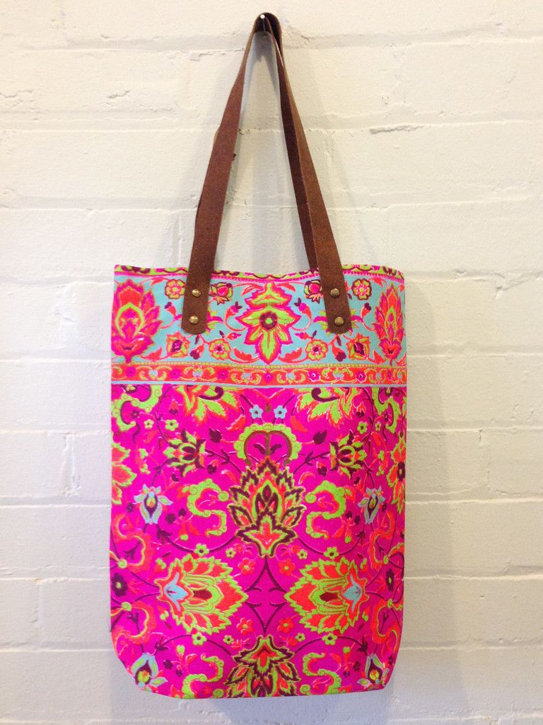 Fluro Canvas Bag /Large - Print 10