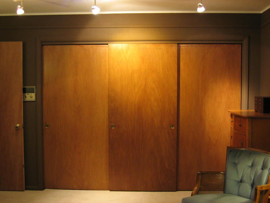 image result for mid century modern closet doors