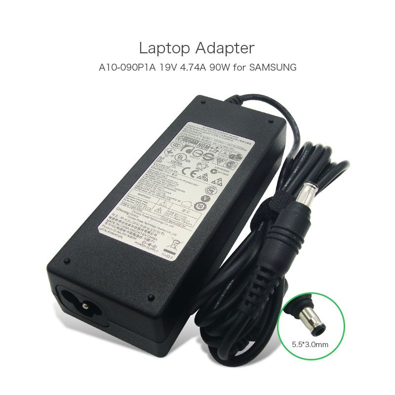Genuine 19v 4 74a 90w 5 5 3 0mm Laptop Power Adapter For Samsung R700 R510 R610 A10 090p1a Aa Pa1n90w Ad 9019s Comp Laptop Accessories Laptop Ac Adapter Laptop