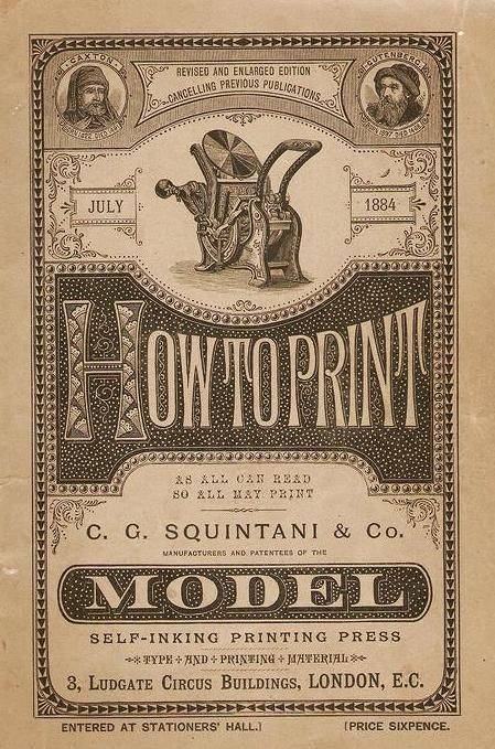 The Model Printing Press cover