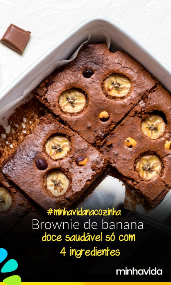 Photo of Brownie de banana simples