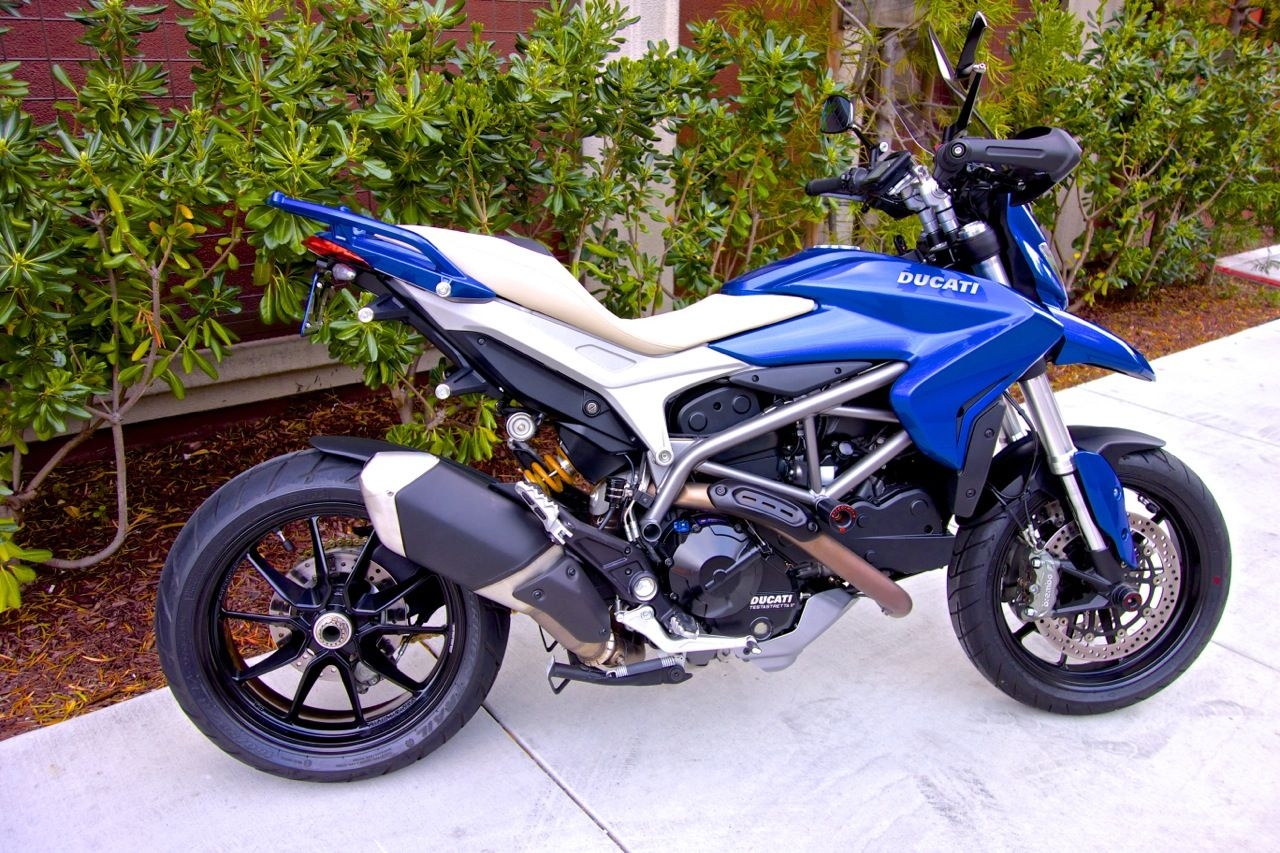 The Blue Beauty Is Complete Heavily Modified Hyperstrada Lots Of