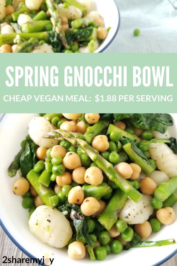 Italian Asparagus Spinach Gnocchi Recipe Vegan
