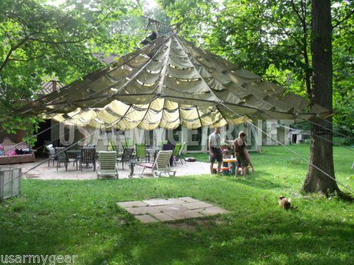 US-Parachute-Party-Tent-Garden-Canopy-Sun-Shade-Gazebo-Wedding-Patio-Umbrella