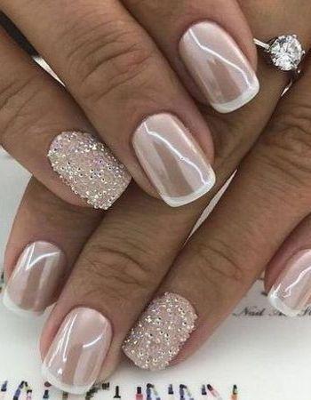 pindiane seawright on nails  bridal nails bride