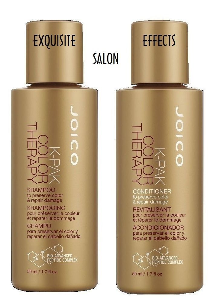 JOICO K-PAK Color Therapy Shampoo and / & Conditioner DUO