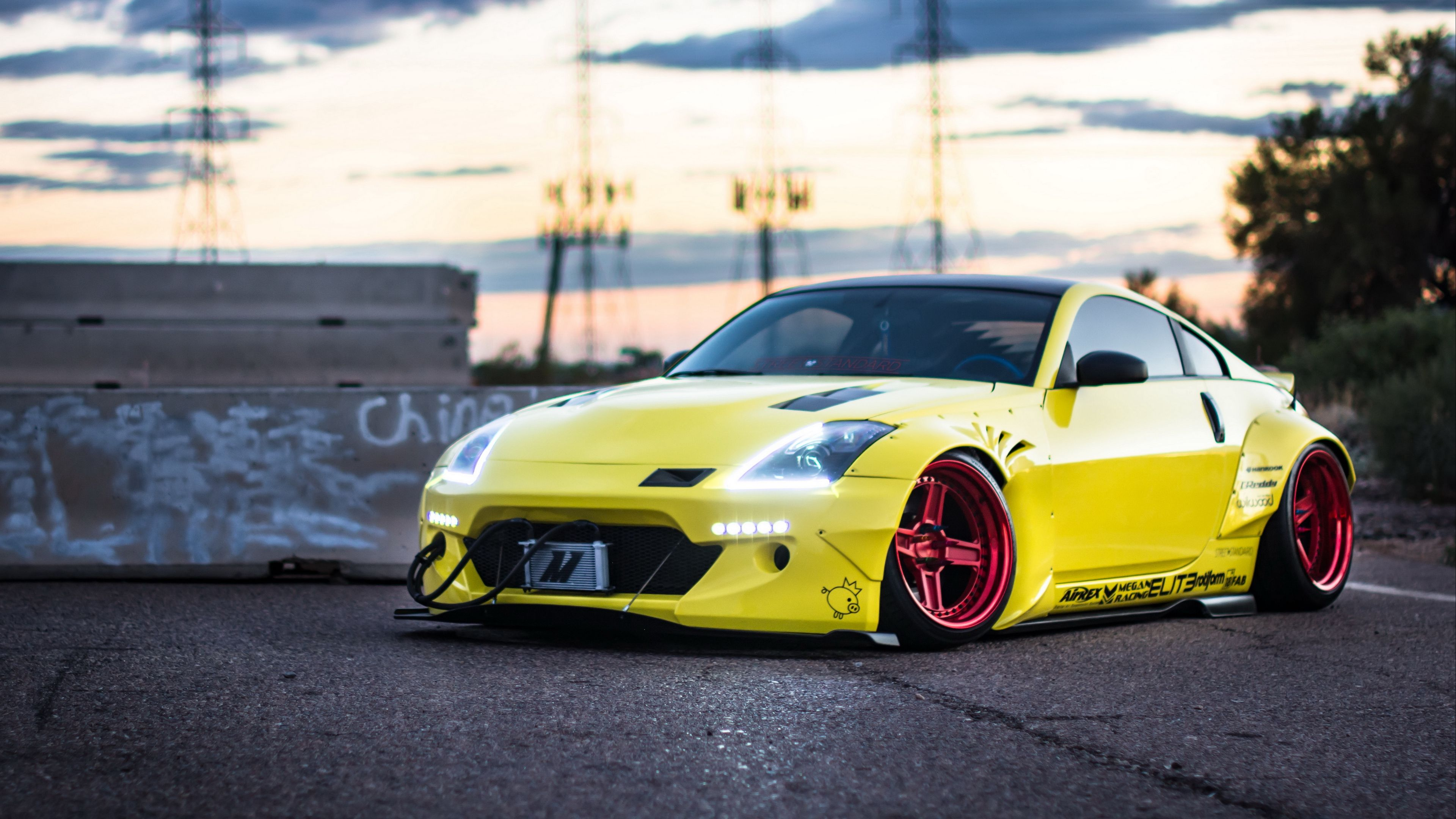 Nissan 350z Yellow Side View 4k Yellow Side View Nissan 350z Nissan 350z Nissan Car Wallpapers
