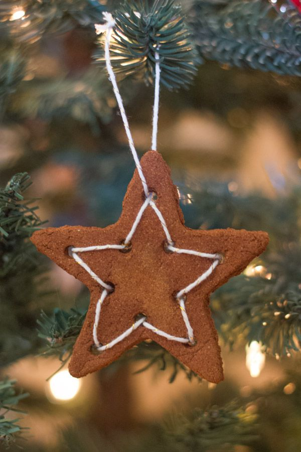 Had to share these applesauce cinnamon ornaments here because they are such  an easy sweet little handmade idea. - Had To Share These Applesauce Cinnamon Ornaments Here Because They