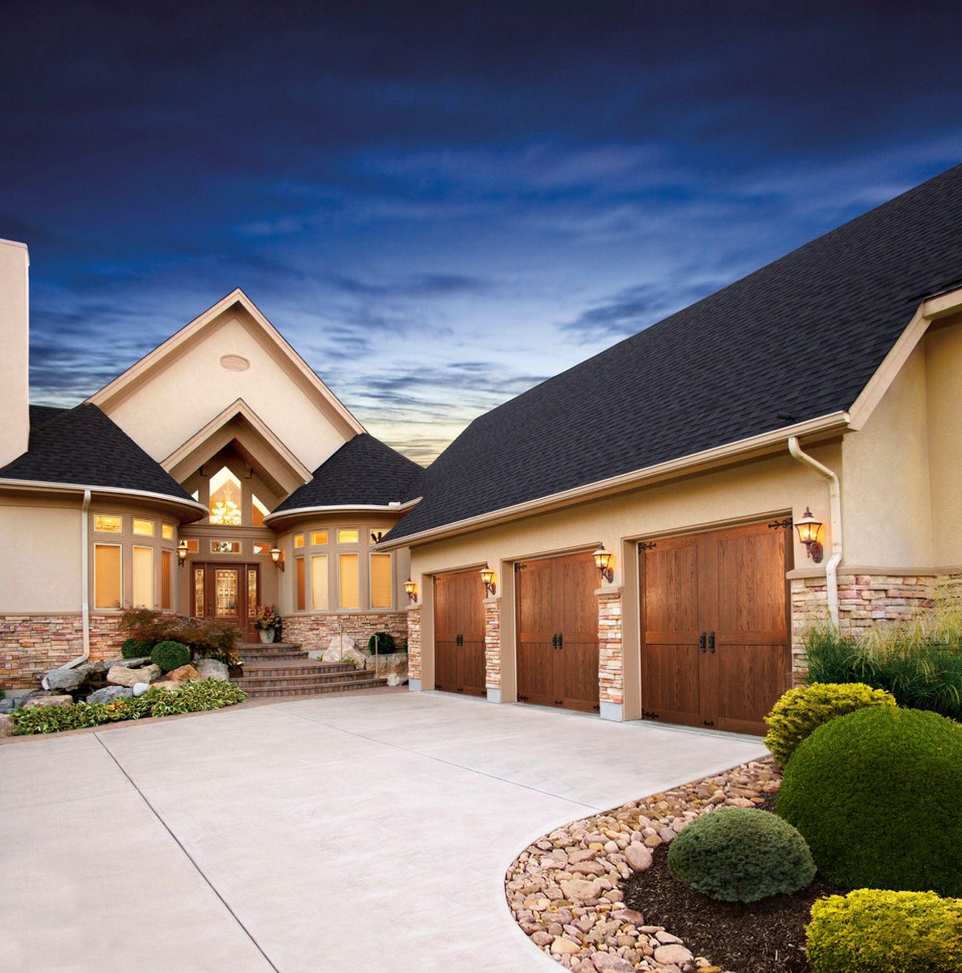 Garage Door Landscaping Ideas: Exterior Design August 2014 16