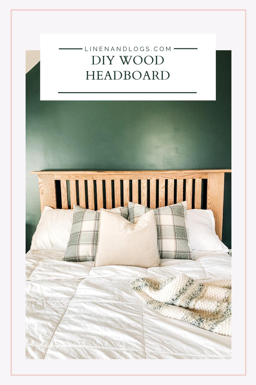 Diy Wood Slat Headboard Headboard Diy Wood Headboard Wood Headboard