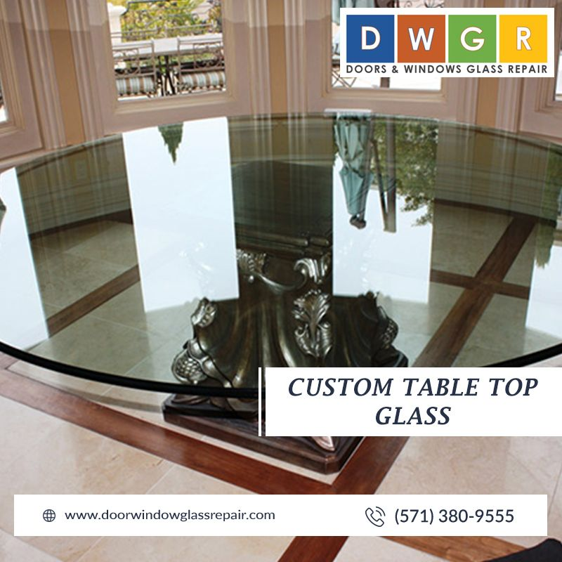 Custom Table Top Glass  #glassrepair
