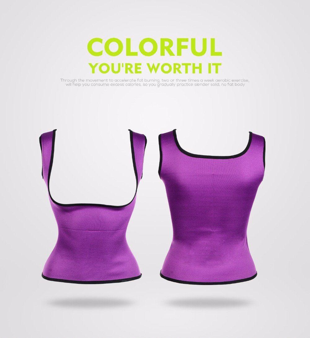 6a5ee0c92870a Neoprene Sports Body Shaper Waist Trainer Corset Gym Workout Running Sports  Shapewear For Women