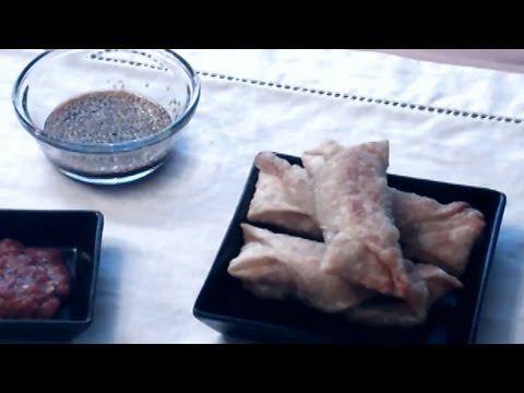 Easy Beef Egg Rolls: 1lb of ground beef, 2 tbsp Soy sauce 1.2 tsp garlic powder 1/4 tsp of ground ginger 1/2 tsp onion powde...