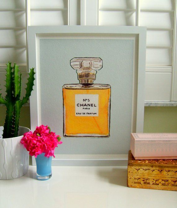 92902184b43a CHANEL No 5 Print in 8 colors | Products | Chanel print, Chanel no 5 ...