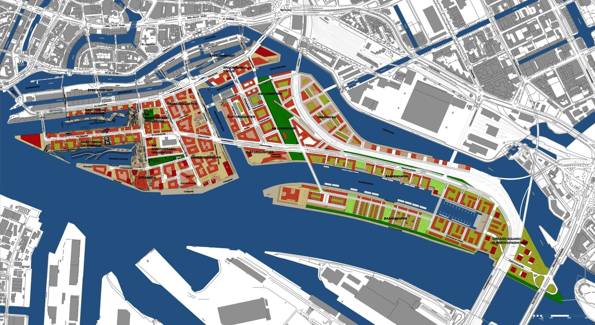 Hafen City Hamburg | UD | Master Planning | Pinterest ...