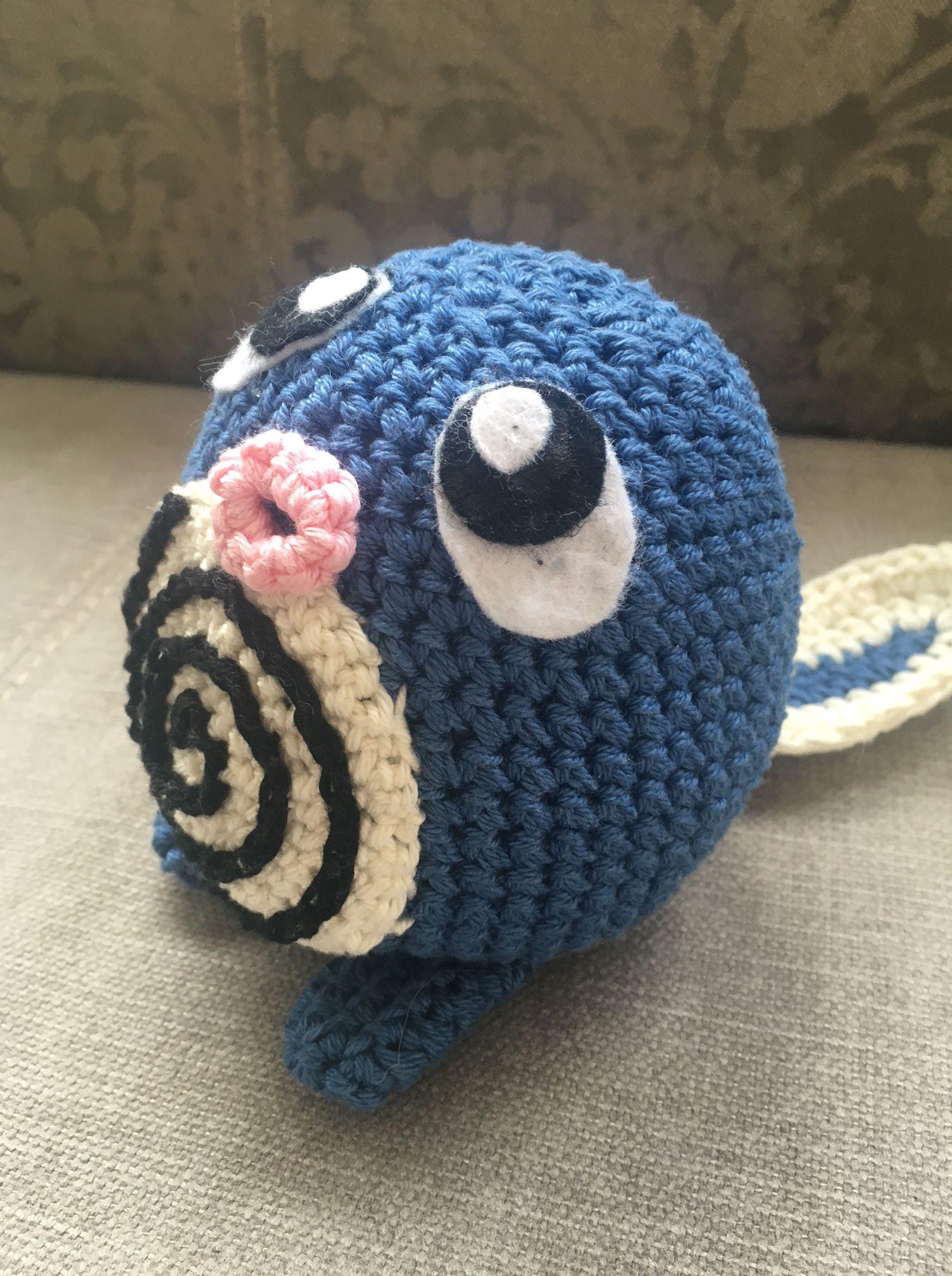 Quapsel / Poliwag | Pinterest | Pokémon, Amigurumi und Anleitungen