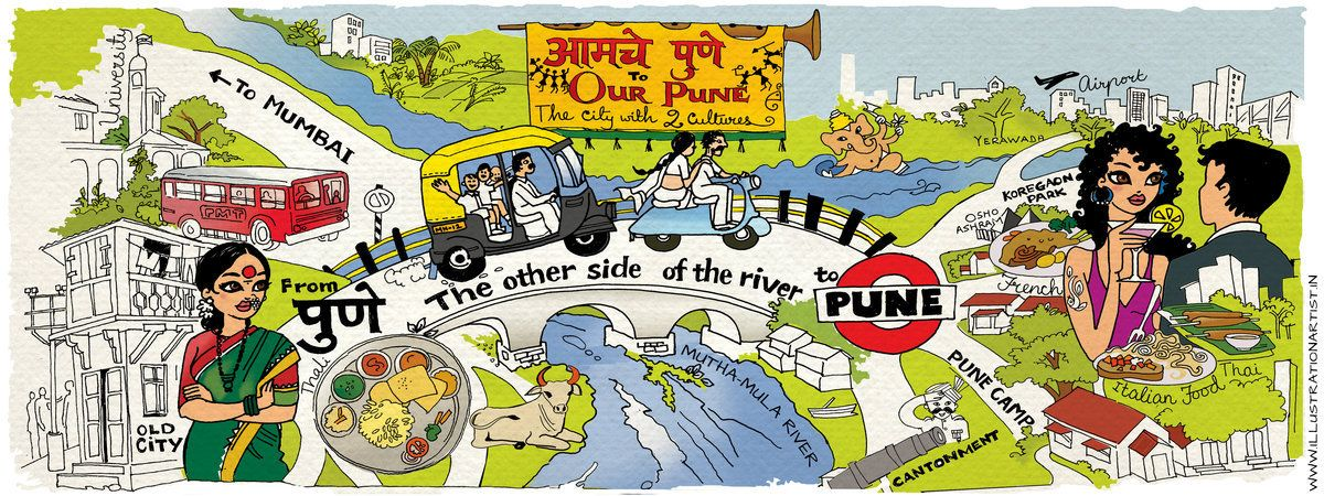 Pune India The City With 2 Cultures By Niloufer Wadia India Book Pune India