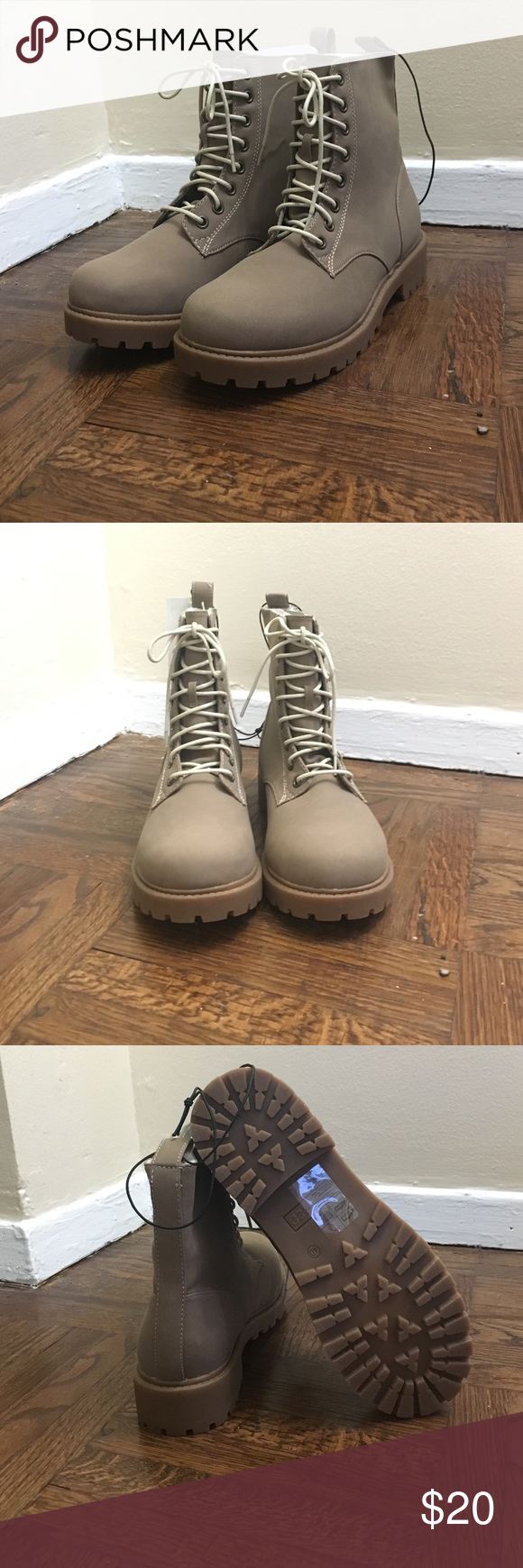 H&M women boots size 8.5 Tan boots H&M Shoes Winter & Rain Boots