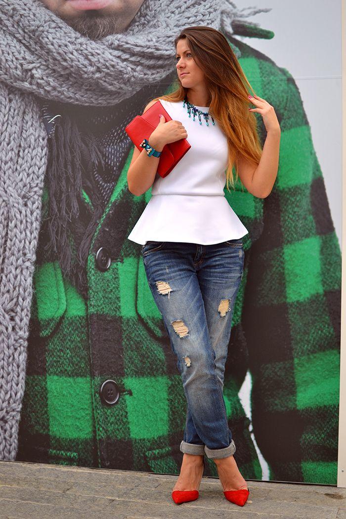 #fashion #fashionista Nicoleta bianco jeans REINVENT YOURSELF: FaceBook
