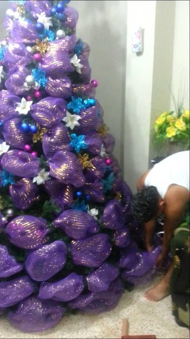 Arbol de navidad decorado buscar con google decoraci n - Ver arboles de navidad decorados ...