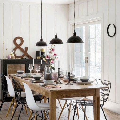 32 Stylish Dining Room Ideas To Impress Your Dinner Guests: Trends To Liven Up Your Space