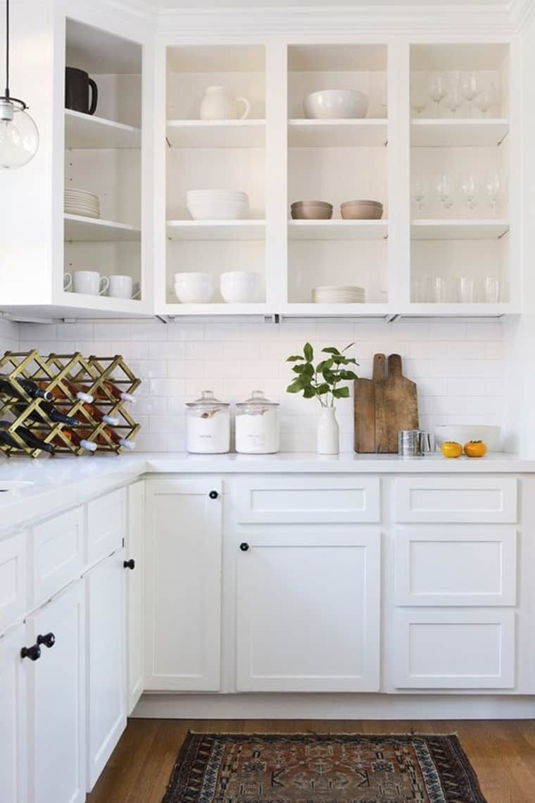 We Love This New Twist On Open Kitchen Shelving That Isn T New At All Apartment Therapy Open Kitchen Shelves Kitchen Cabinet Design Open Kitchen Cabinets