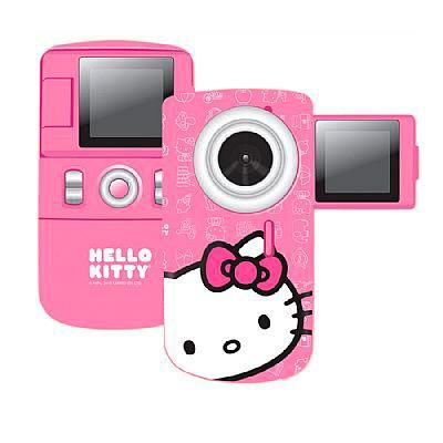 Existe algo melhor do que guardar recordações dos momentos bons? Se você quer registrar o que faz de mais legal, conte com a filmadora da Hello Kitty - Modjo