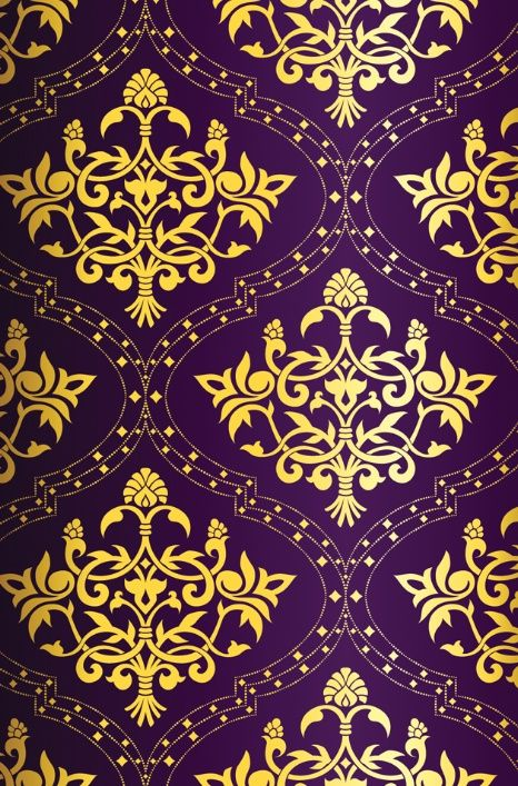 Purple And Gold Wallpaper Beautiful
