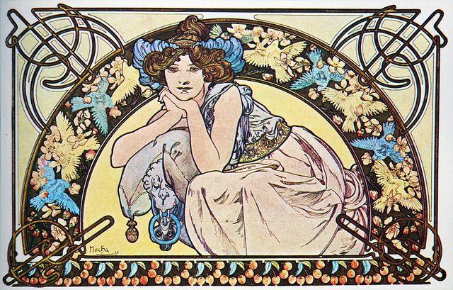 Fleur De Cerisier/Cherry Blossom, 1898.