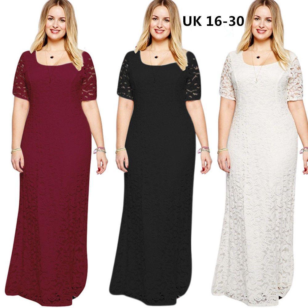 Maxi dress size 16 uk