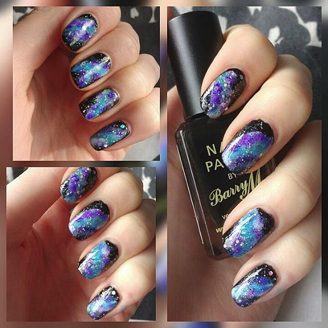 Your nails can be out of this world just like you! Happy Design by - Your Nails Can Be Out Of This World Just Like You! Happy