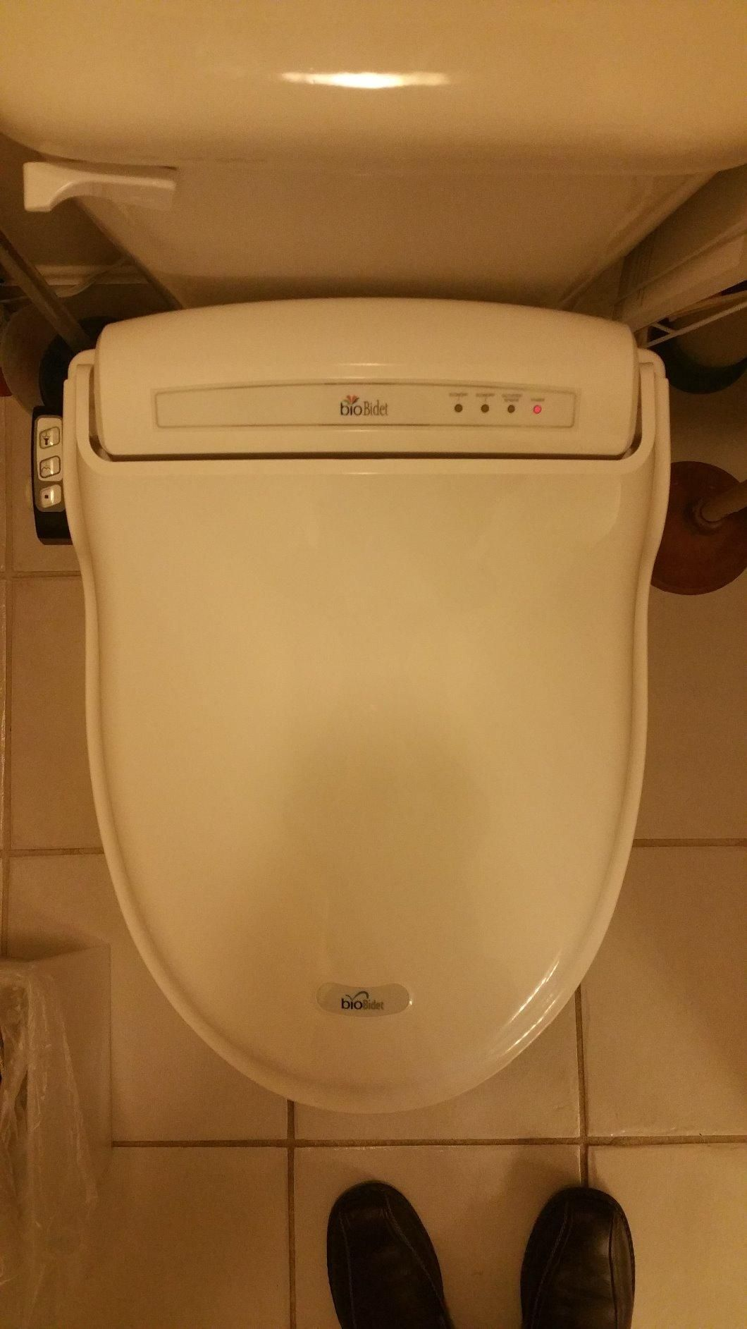 The K 27142 Cr Heated Bidet Toilet Seat Offers Instant Warm Water