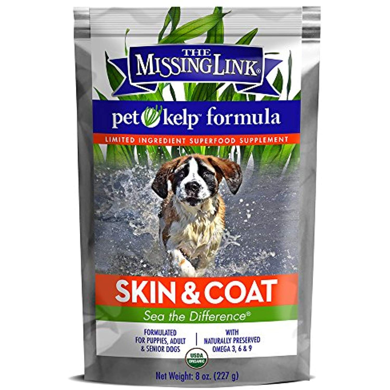 The Missing Link Organic Pet Kelp Skin And Coat Formula A Limited Ingredient Superfood Supplement Superfood Supplements Organic Pet Products Pet Vitamins