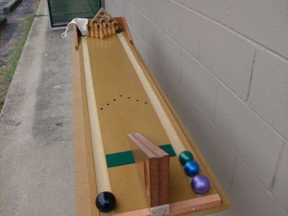 Delightful Tabletop Bowling Game For ALL Including The Blind And Visually Impaired