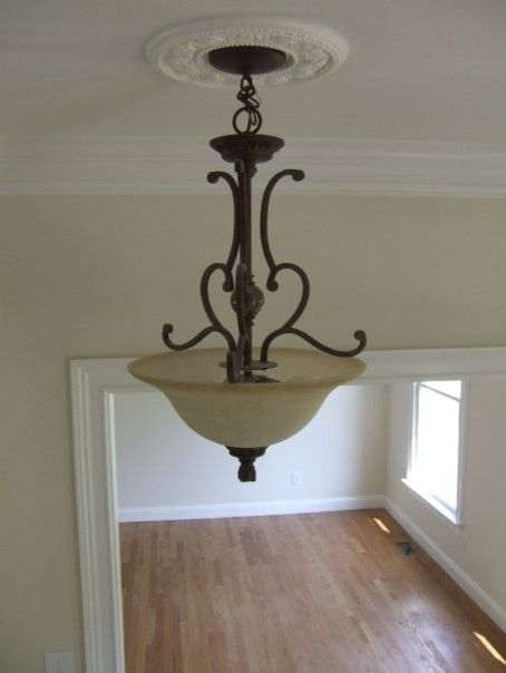 Entryway Lighting Fixtures Foyer Light Fixture In Two Story Traditional Home Entryway Entryway Lightin Foyer Lighting Fixtures Foyer Lighting Foyer Decorating