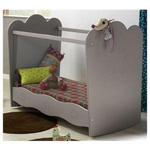 lit b b eloise 120 x 60 cm auchan france bb pinterest lit bebe maman et auchan france. Black Bedroom Furniture Sets. Home Design Ideas