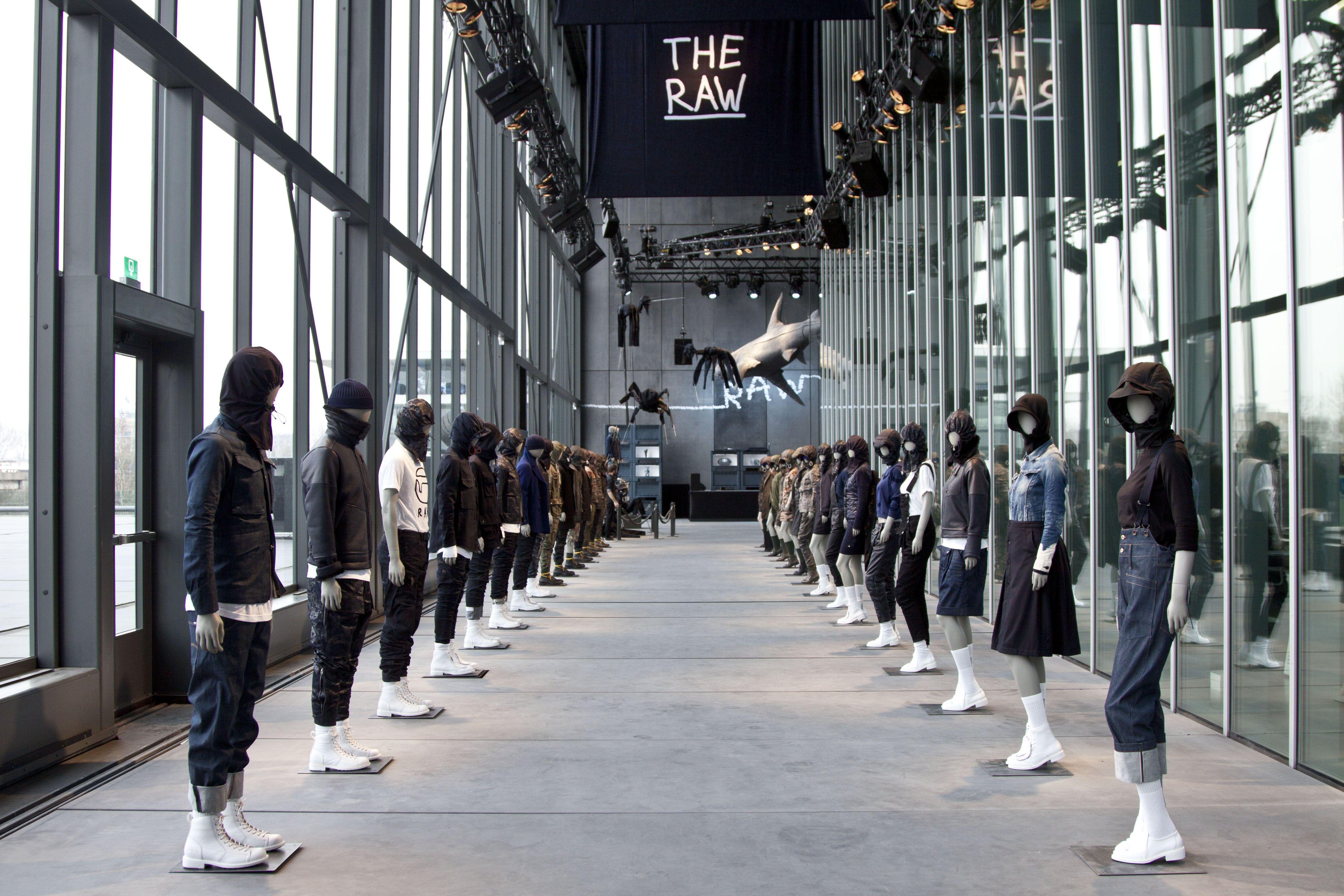 Pharrell\'s RAW Gallery @ G-Star Headquarters, Amsterdam | Pinterest