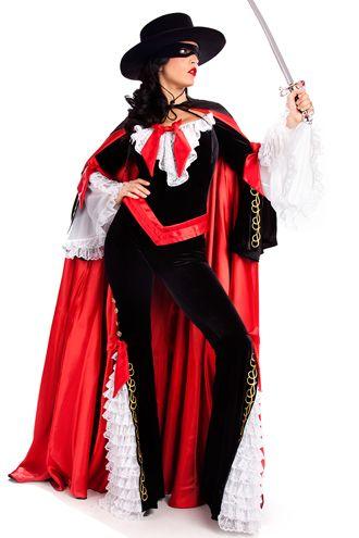 45beed2b2 fantasia-mulher-zorro-super-luxo Roupa Mexicana Feminina