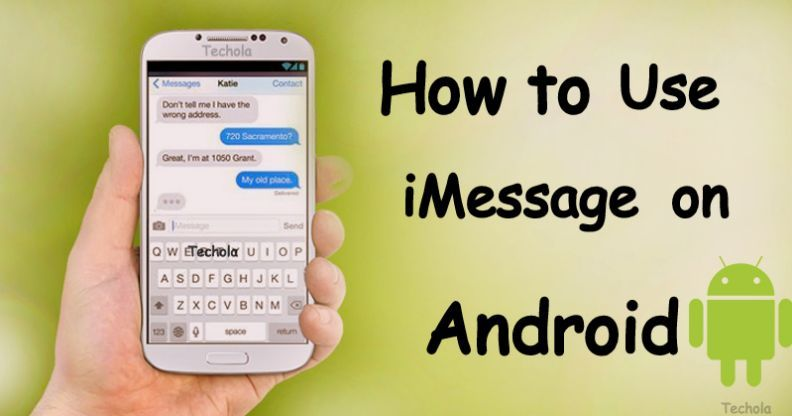 iMessage For Android Best iMessage Alternatives 2018