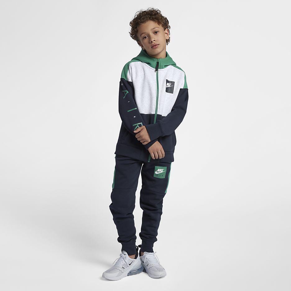 Air Big Kids' (Boys') Full Zip Hoodie | kids sportwear en 2019