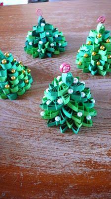 Albero Di Natale Quilling.Quilling Tree Disegni Quilling Idee Quilling Quilling